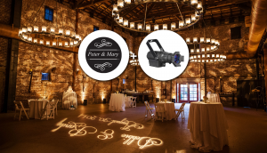 Wedding gobo package